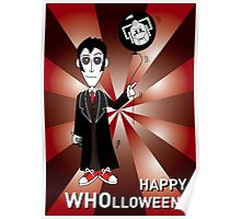 Dr Who Halloween Card 3 Poster