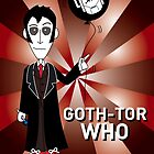 GOTH TENTH DR WHO by mjfouldes