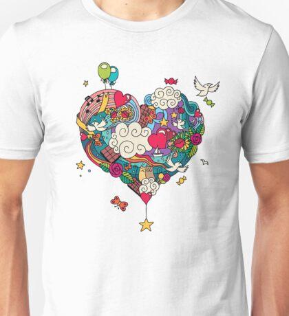 Love Doodle Unisex T-Shirt