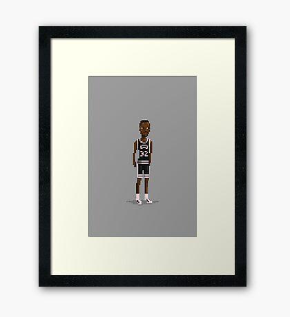 Elliott Framed Print
