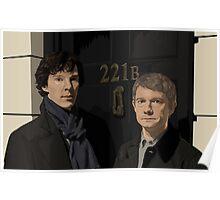 Sherlock and John - 221B Poster