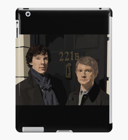 """""""221B"""" iPad Case/Skin"""