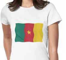 Cameroon flag Womens Fitted T-Shirt