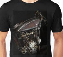 Excelsior Board Track Racer Engine Unisex T-Shirt