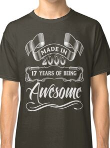 Born In 2000 Awesome  Classic T-Shirt