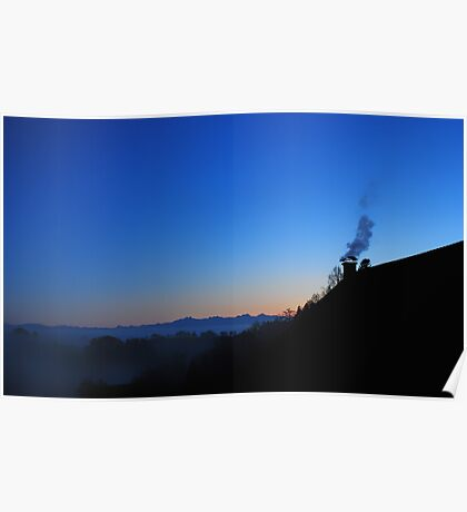 The Chimney and a spectacular view Poster