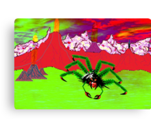 An Example of the Main Intelligent Species on the Exoplanet Araneae Canvas Print