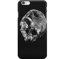 Human Skull Vintage Illustration iPhone Case/Skin