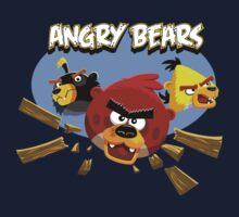 Angry Bears by BearYourArt