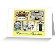 Hypovereinsbank Rosenheim Greeting Card