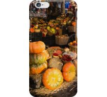 Italian Thanksgiving Harvest at Campo de Fiori in Rome, Italy iPhone Case/Skin