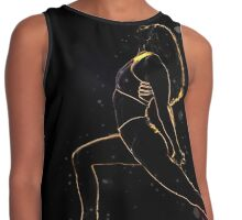 Female Yoga instructor in her studio Contrast Tank