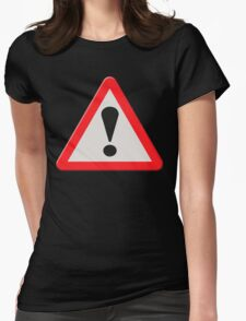 UK Road sign danger ahead exclamation mark T-Shirt