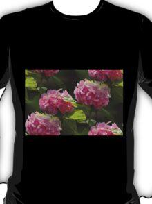 hydrangea in the garden T-Shirt