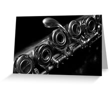 Flute 6061 Greeting Card
