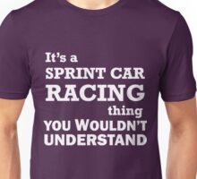 Sprint Car Racing  Unisex T-Shirt