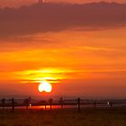 Sunset at Liverpool Airport by Paul Madden