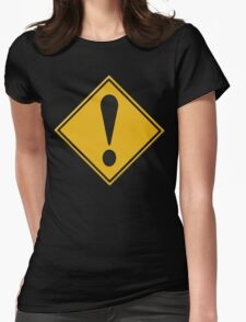 US Road sign danger ahead exclamation mark T-Shirt