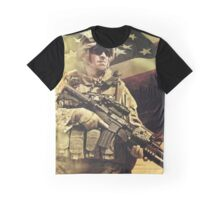 American Soldier Graphic T-Shirt