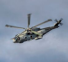 Royal Navy Merlin Helicopter by © Steve H Clark Photography