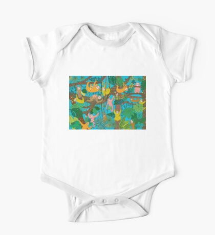 Happy Sloths Jungle  Kids Clothes