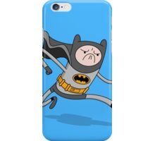 Adventure Time Batman and Robin Mash Up iPhone Case/Skin