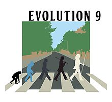 Evolution #9 (Beatles' Abbey Road/March of Progress) Photographic Print