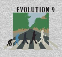 Evolution #9 (Beatles' Abbey Road/March of Progress) Kids Clothes