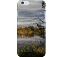 Linlithgow Loch and Palace, Scotland iPhone Case/Skin
