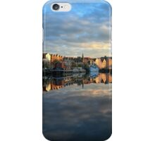 5 Second Long Exposure of the Sunset over the Shore, Edinburgh iPhone Case/Skin