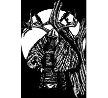 Crow Knight Photographic Print
