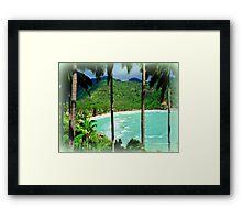 Leela Beach Framed Print