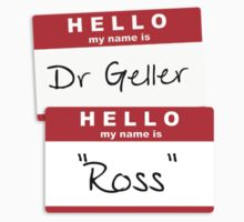 "Dr Geller, ""Ross"" Kids Clothes"