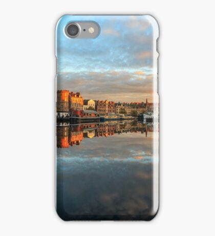 Panoramic View of the Sunset over the Shore in Edinburgh iPhone Case/Skin