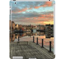 HDR Sunset over the Shore in Leith, Edinburgh iPad Case/Skin