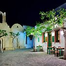 Have a seat in Folegandros by Hercules Milas