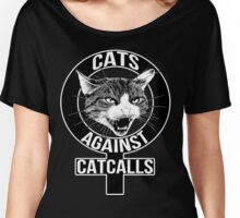 Cats Against Catcalls Women's Relaxed Fit T-Shirt