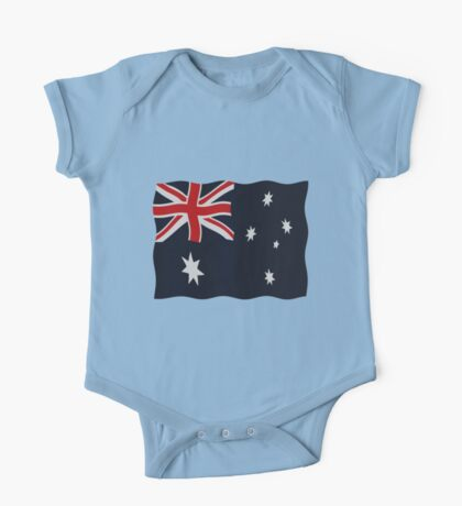 Australia flags One Piece - Short Sleeve