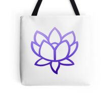 Lotus Purple Tote Bag