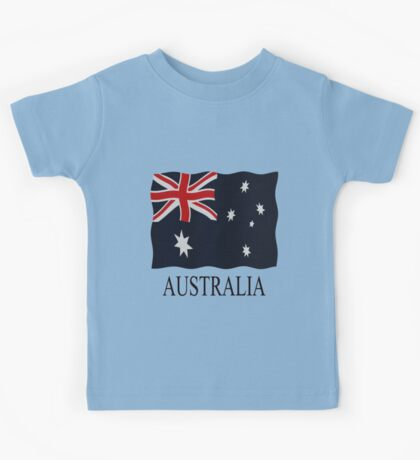 Australia flags Kids Tee
