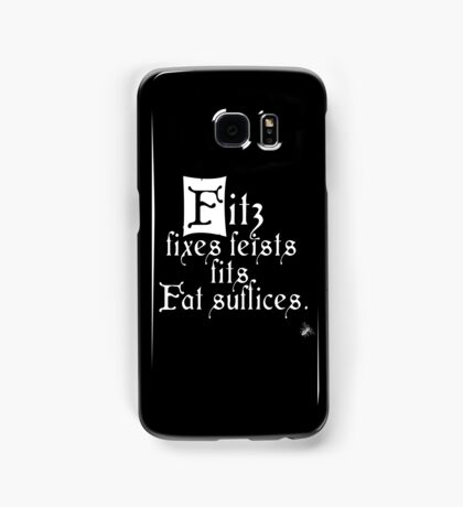 The Fitz and The Fool (Fitz) Samsung Galaxy Case/Skin