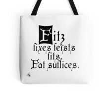 The Fitz and The Fool (Fool) Tote Bag