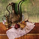 Pears with Indian Copper by suzannem73
