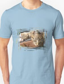 Funny striped kitten T-Shirt