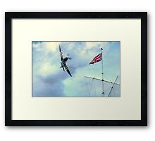 Proud  to be British  Framed Print