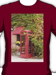 An old style telephone booth T-Shirt