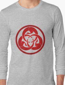 Hagakure Red Long Sleeve T-Shirt