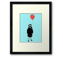 What lovely weather we are having... Framed Print
