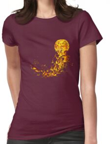 Flammable Jellyfish Womens Fitted T-Shirt
