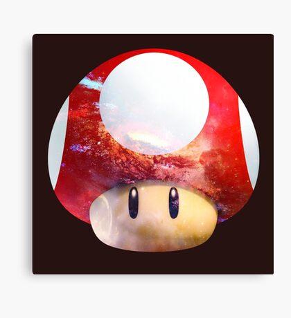 Hype Mario Shroom Canvas Print